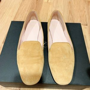 J crew suede loafers US7